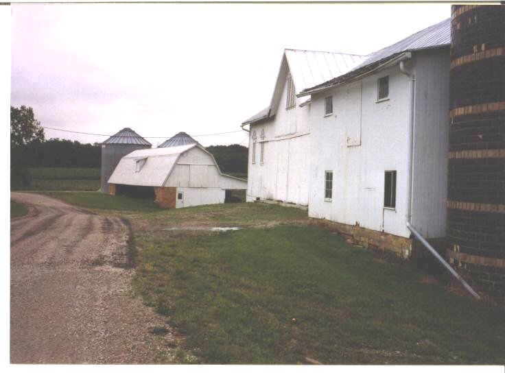 George Benton Fry's two barns (1992)
